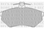 Klocki hamulcowe - komplet BORG & BECK BBP1427