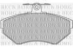Klocki hamulcowe - komplet BORG & BECK BBP1607