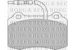 Klocki hamulcowe - komplet BORG & BECK BBP1674