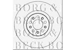 Tarcza hamulcowa BORG & BECK BBD6011S BORG & BECK BBD6011S