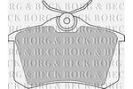 Klocki hamulcowe - komplet BORG & BECK BBP1542