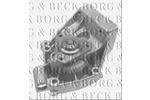 Pompa wody BORG & BECK BWP1731 BORG & BECK BWP1731