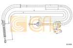 Linka hamulca postojowego COFLE 10.4306 COFLE 10.4306