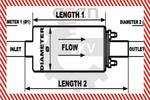Pompa paliwa SKV GERMANY  02SKV002 (Przewód paliwowy)-Foto 7