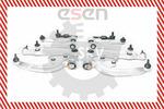 Wahacze - kompletny zestaw naprawczy SKV GERMANY  04SKV250-Foto 4