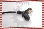 Czujnik prędkości obrotowej koła (ABS lub ESP) SKV GERMANY  06SKV036 (Z obu stron) (Z tyłu)
