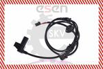 Czujnik prędkości obrotowej koła (ABS lub ESP) SKV GERMANY  06SKV038 (Z obu stron) (Z przodu)-Foto 4
